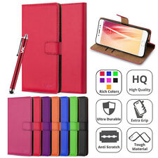 Vivo X9 Plus - Wallet Flip Book [Stand View] Card Case Cover + Screen Guard