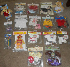 HUGE MUFFY VANDERBEAR COLLECTION ALL NEW OUTFITS & 2 BEARS ++