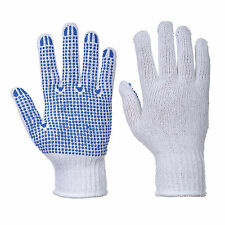 Unisex FORTIS A POIS POIS GUANTO BIANCO/BLU VARIE MISURE A111