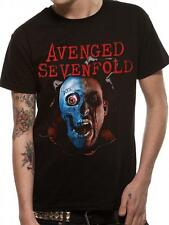 OFFICIAL LICENSED - AVENGED SEVENFOLD - ROBOT HEAD T SHIRT METAL A7X