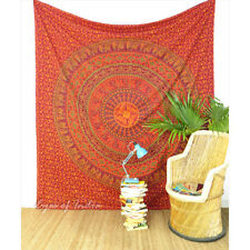 Large Queen Indian Decorative Mandala Tapestry Bedspread Boho Bohemian Hippie