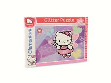 Clementoni-Puzzle Hello Kitty Glitter oder Jewels, 104-Teile
