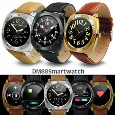 2017 Bluetooth Smartwatch with Heart Rate Monitor For Ios Android Smart Phones