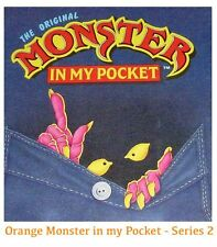 Monster in my Pocket - Series 2 - Mini Figure MIMP Matchbox MEG - Orange