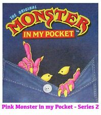 Monster in my Pocket - Series 2 - Mini Figure MIMP Matchbox MEG - Pink
