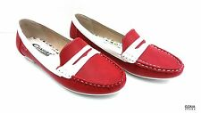 Chaussures Femme Type Mocassins Rouge GGMA SHOES