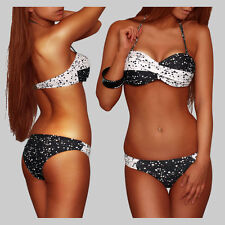 Sexy Twist Push Up Bandeau Point Bikini Talla 34/XS - 36/S - 38/M - 40/L -42/XL