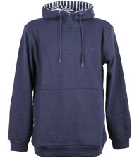 Cleptomanicx Duo Hooded Herren Pullover Dark Navy