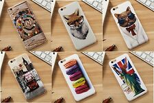 Premium 3D Printed Slim Soft Jelly Sillicon TPU Case Cover for Apple iPhone 6 6S