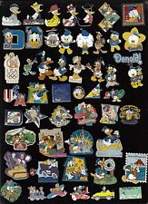 25 Disney Pin Pins - Walt Disney World - Disneyland AUSSUCHEN: DONALD DUCK