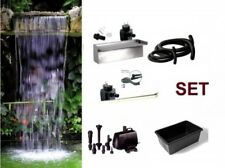 Powerfall 600 Cascata Set circa 1,50 m Altezza cascata,incl. Pompa,LED,