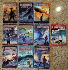 New I Survived Series Paperback (9 + 1) 10  Book Set Series by Lauren Tarshis 14