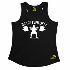 Do You Even Lift SWPS WOMENS DRY FIT VEST birthday gift workout gym training