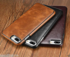 High Quality Rich Quality Leather Hard back cover  for Apple iPhone 7, 7 Plus