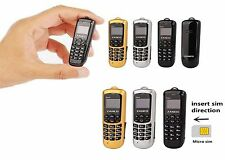 BRAND NEW ZANCO BEE / FLY Worlds Smallest Phone with Voice Changer VARIOUS COLOR
