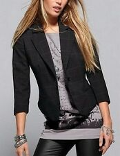 Blazer Laura Scott Pointure 32,40,42,44 Veste Femme Damier Noir Stretch