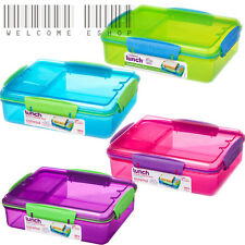 Sistema 975ml Multi Compartment Snack Attack Duo Lunch Box