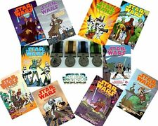 Star Wars Toys R Us Exclusive Medal And Clone Wars Book Set - You Choose