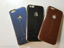 Stylish Look  hard  Leather Look back Cover For Apple iPhone 5