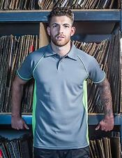 Herren Piped Performance Polo / Coolplus®-Polyester | Finden+Hales