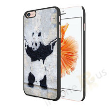 Banksy Art Panda Case Cover For Apple iPhone Samsung HTC Sony All Top Brands