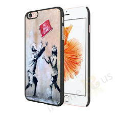Banksy Art Work 4 No Ball Games Case Cover For All Top Makes And Models Phones