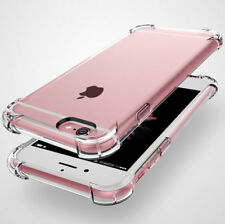 For Apple iPhone 6+/ 7 Plus Rubber Hybrid TPU Clear Case Bumper Shockproof Cover