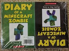 New Diary of a Minecraft Zombie Paperback Set Sealed Lot Books 1 - 9 Series