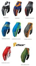 Thor Sub S6 2016 Guanti MX Motocross MTB BMX Enduro Quad S M L XL colore di fox