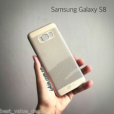 LOOPEE Luxury for Samsung Galaxy S8 Plus cell phone case Hollow Mesh Hard Case