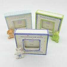 Ceramic BABY'S FIRST PHOTO FRAME - August / October / November Options - Gift