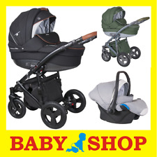 Coletto Milano luxury stroller pram 3in1 kinderwagen car seat NEW COLLETCTION