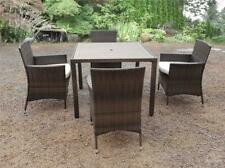 NEW RATTAN GARDEN PATIO WICKER OUTDOOR CONSERVATORY LARGE DINING FURNITURE 4 6 8