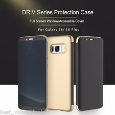 Flip Case for Samsung Galaxy S8 DR.V series Protection Full Window Back Cover