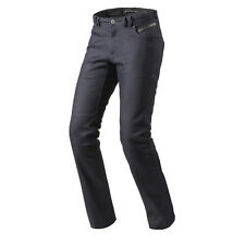 Rev'it! Orlando H2O impermeabile Moto Motocicletta Jeans Blu Scuro Rev It Revit