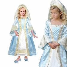 Deluxe Tudor Princess Girls Fairytale Historical Book Week Fancy Dress Costume