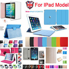 Luxury Smart Flip Cover Stand Wallet PU Leather Case For iPad 2/3/4 5 6 Air2 9.7