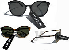 EYELEVEL® UNISEX VINTAGE RETRO STYLE SUNGLASSES UV400 BILLIE BLACK or TORTOISE