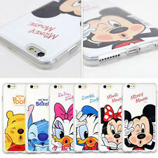 DISNEY MINNIE MICKEY & DAISY DUCK CLEAR TPU SOFT CASE FOR APPLE IPHONE 7 & 7+