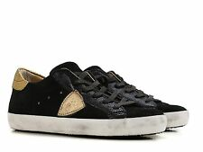Sneakers Philippe Model donna in camoscio nero