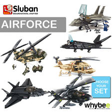 SLUBAN AIR FORCE JET FIGHTERS FULL RANGE CHOOSE YOUR KT FULLY COMPATIBLE NEW