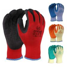 10 x UCI AceGrip®-RP General Purpose Work Protective Gloves Latex Coating EN388