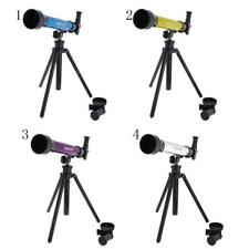 Astronomical Telescope Plasyset wi/ Tripod Kids Toy Gift Exploring & discovering