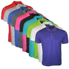 Polo T Shirt 100% Cotton Unisex Collar Excellent Quality Brand Fit Father's Day