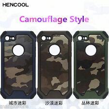 Premium Quality Army Silicone + PC Back Case Cover for Apple iPhone 6,6 Plus