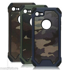 Premium Quality Army Silicone + PC Back Case Cover for Apple iPhone 5