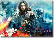 Game of Thrones Jon Snow Collage New Wall Art Large Poster Print A0 A1 A2 A3 A4