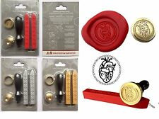 Anatomical Heart, Doctors Wax Seal Stamp +2 sticks Wax Craft Cards Invites 199