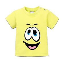 Happy Face Smiley Baby T-Shirt