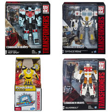 Hasbro  - Transformers Generation Voyager  HOT SPOT/SIVERBOLT/OPTIMUS PRIME